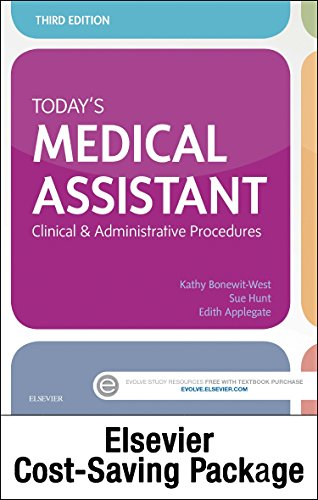 9780323398848: Today's Medical Assistant - Text and Elsevier Adaptive Quizzing (Access Card) Package, 3e