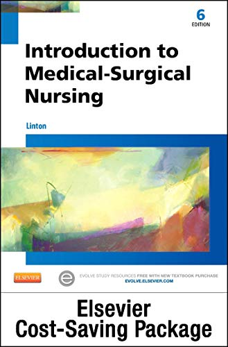 9780323398879: Introduction to Medical-Surgical Nursing - Text and Elsevier Adaptive Quizzing (Access Card) Package, 6e