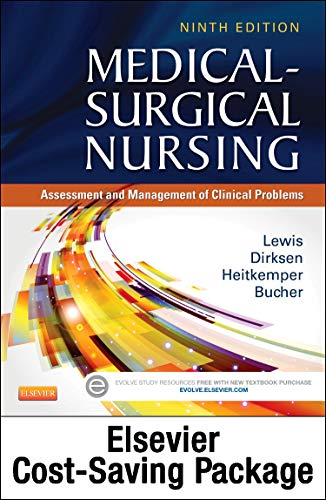 9780323398909: Medical-Surgical Nursing (Two-Volume set) - Text and Elsevier Adaptive Quizzing (Access Card) Updated Edition Package: Assessment and Management of Clinical Problems, 9e