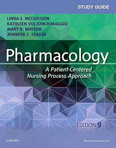 9780323399081: Study Guide for Pharmacology: A Patient-Centered Nursing Process Approach