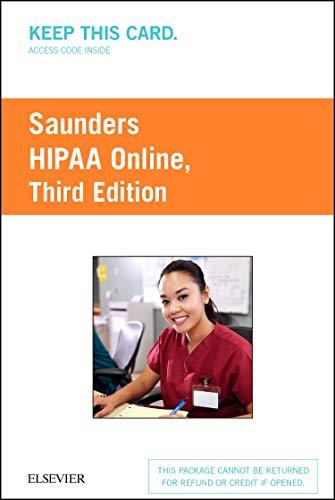 9780323400725: HIPAA Online (Access Card), 3e