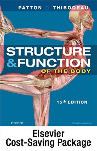 9780323401333: Structure and Function of the Human Body - Text and Elsevier Adaptive Learning (Access Card) and Elseiver Adaptive Quizzing (Access Card) Package, 15e