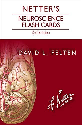 9780323401562: Netter's Neuroscience Flash Cards, 3e