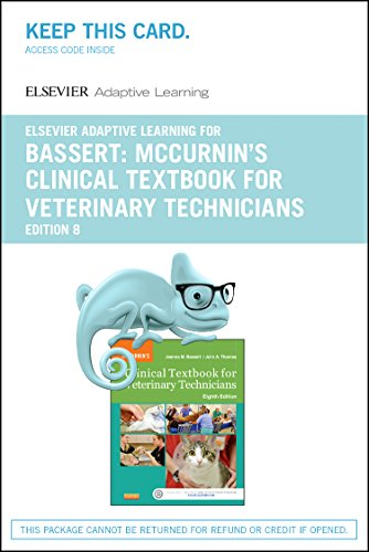 9780323401876: Elsevier Adaptive Learning for McCurrin's Clinical Textbook for Veterinary Technicians (Access Card), 8e