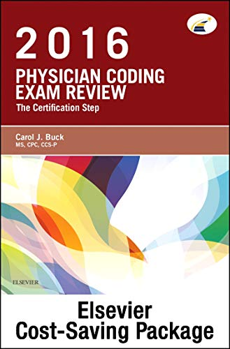 9780323415064: Physician Coding Exam Review 2016 - Pageburst E-Book on Kno + Evolve Access (Retail Access Cards): The Certification Step, 1e