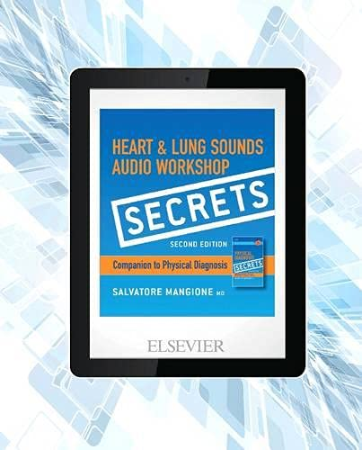 Secrets Heart & Lung Sounds Audio Workshop: Mangione MD, Salvatore