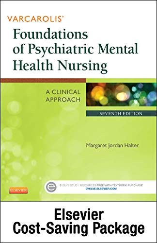 9780323429641: Varcarolis' Foundations of Psychiatric Mental Health Nursing - Text and Virtual Clinical Excursions Online Package, 7e