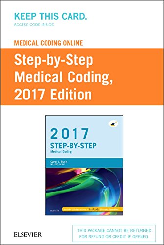 9780323431279: Medical Coding Online for Step-by-Step Medical Coding, 2017 Edition (Access Card), 1e