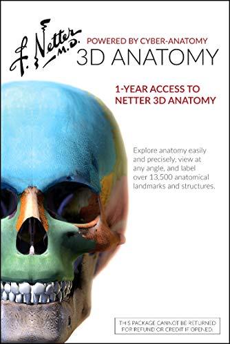 9780323442817: Netter 3D Anatomy (Retail Access Card): 1-yr Online ...