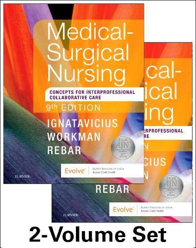 9780323461580: Medical-Surgical Nursing: Concepts for Interprofessional Collaborative Care, 2-Volume Set