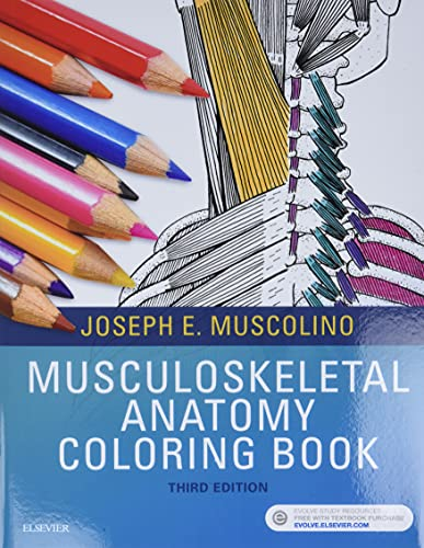 9780323477314: Musculoskeletal Anatomy Coloring Book