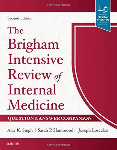The Brigham Intensive Review Of Internal Medicine: Singh, Ajay K.;loscalzo,