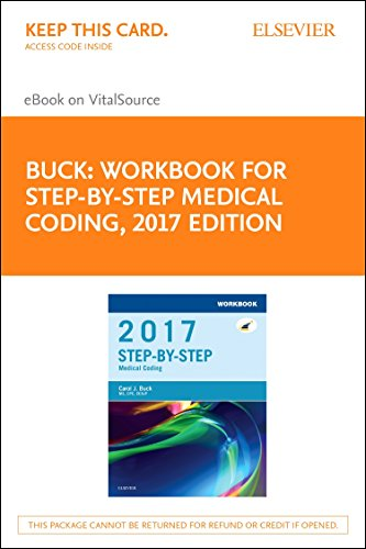 9780323497039: Workbook for Step-by-Step Medical Coding, 2017 Edition - Elsevier eBook on VitalSource (Retail Access Card), 1e