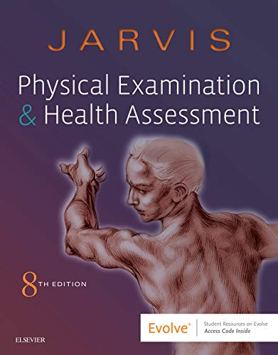 9780323510806: Physical Examination and Health Assessment, 8e