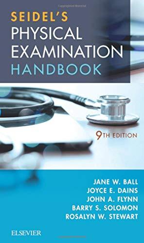 9780323545327: Seidel's Physical Examination Handbook: An Interprofessional Approach (Mosbys Physical Examination Handbook)