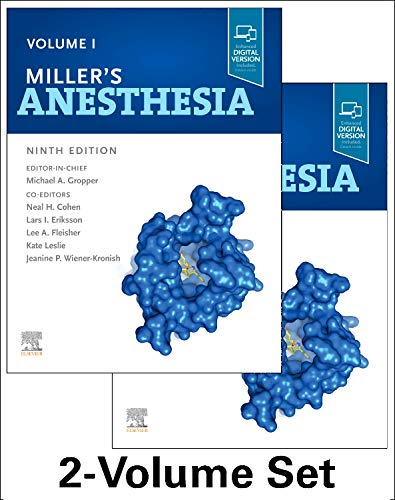 9780323596046: Miller's Anesthesia, 2-Volume Set, 9th Edition: Volume I + II