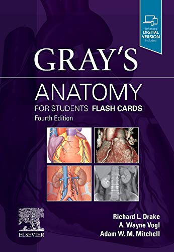 9780323639170: Gray's Anatomy for Students Flash Cards