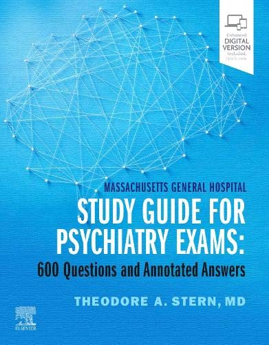 9780323732963: Massachusetts General Hospital Study Guide for Psychiatry Exams: 600 Questions and Annotated Answers