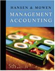 9780324002263: Management Accounting