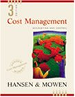9780324002324: Cost Management: Accounting and Control