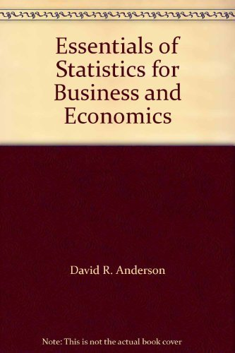 9780324003321: Essentials of Statistics for Business and Economics