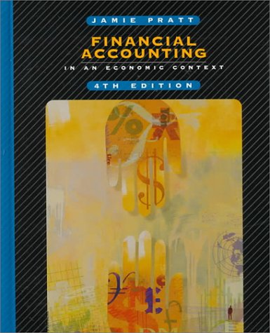 9780324003376: Financial Accounting in an Economic Context