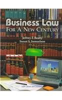 9780324003420: Business Law for a New Century