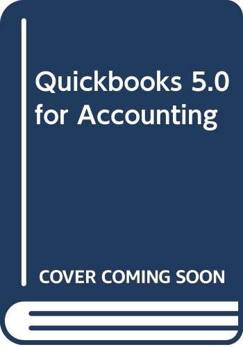 9780324003994: Quickbooks 5.0 for Accounting