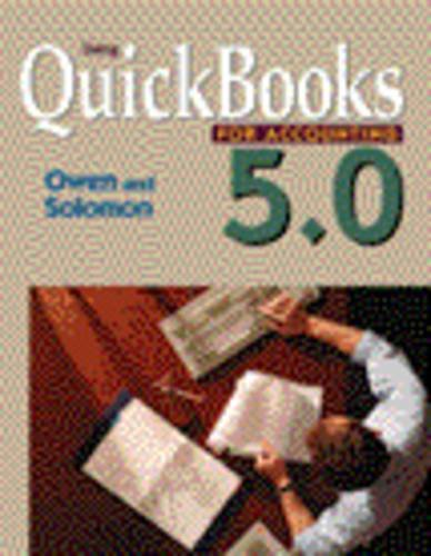 9780324004021: Using QuickBooks 5.0 for Accounting