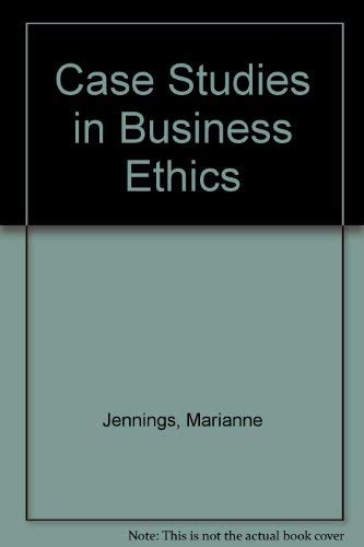 9780324004045: Business Ethics: Case Studies and Selected Readings