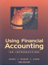Using Financial Accounting: An Introduction: Dennis Murray, Bruce