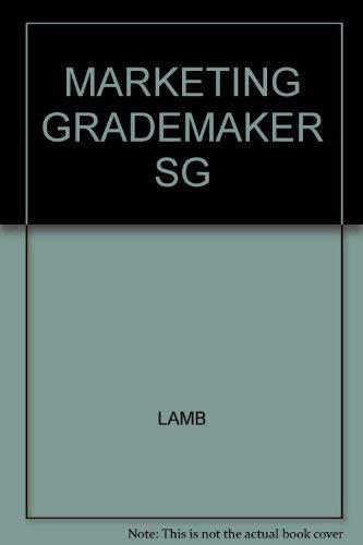 9780324014402: Grademaker Study Guide to accompany Marketing, 5e