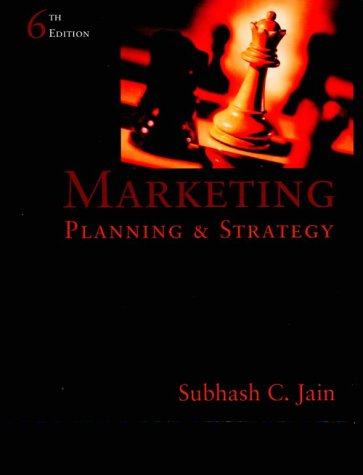 9780324014808: Marketing Planning and Strategy