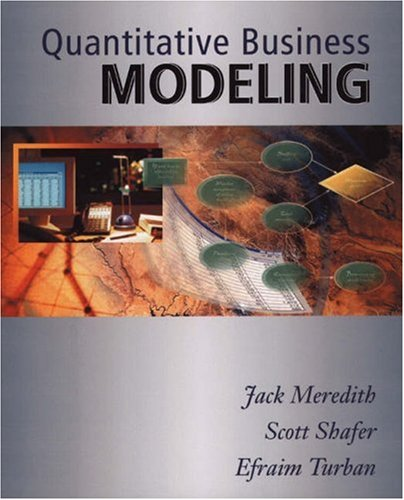 9780324016000: Quantitative Business Modeling