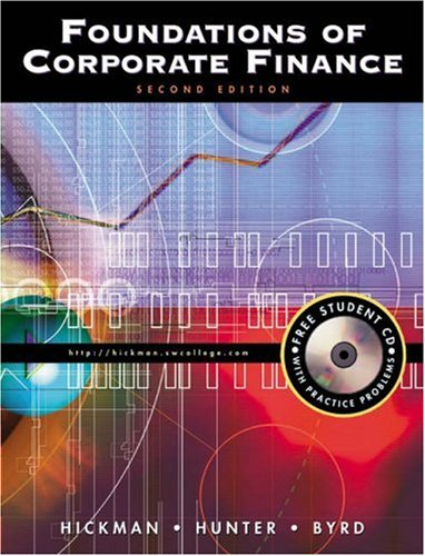 9780324016390: Foundations of Corporate Finance