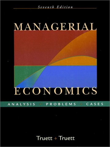 9780324019070: Managerial Economics: Analysis, Problems, Cases