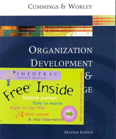 9780324019872: Organization Development and Change