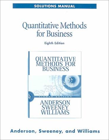9780324021356: Quantitative Methods for Business