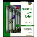 9780324022247: Business Law Today, Essentials Edition - Textbook Only