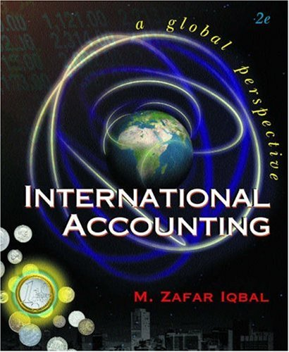 9780324023503: International Accounting with InfoTrac College Edition