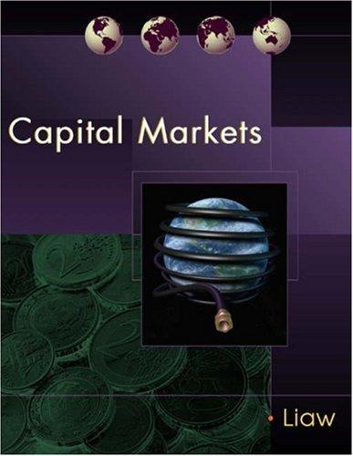 Capital Markets: K. Thomas Liaw