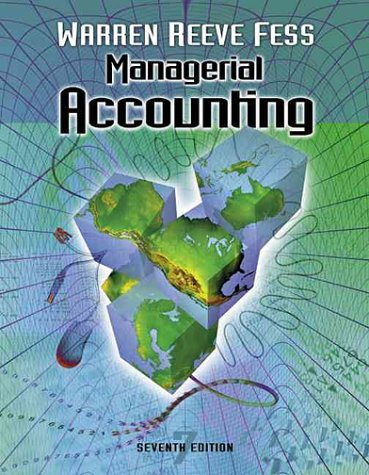 Managerial Accounting: Warren, Carl S.;
