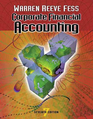 9780324025415: Corporate Financial Accounting