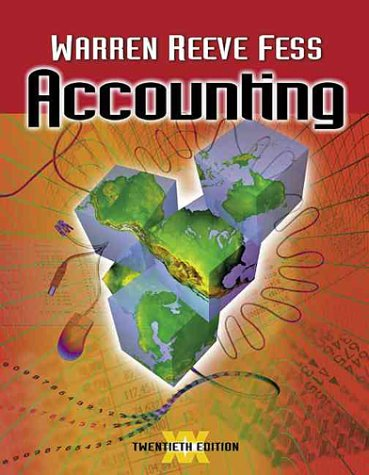 9780324025422: Accounting (Accounting / Carl S. Warren)