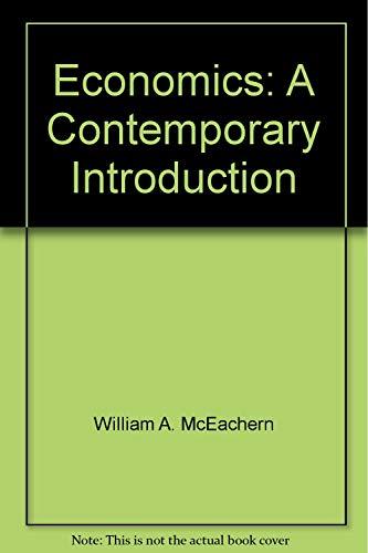 9780324037029: Economics: A Contemporary Introduction