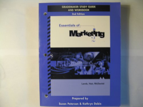 9780324043785: Grade Maker Study Guide and Workbook for Essentials of Marketing, 2e