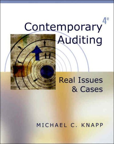 9780324048612: Contemporary Auditing: Real Issues and Cases