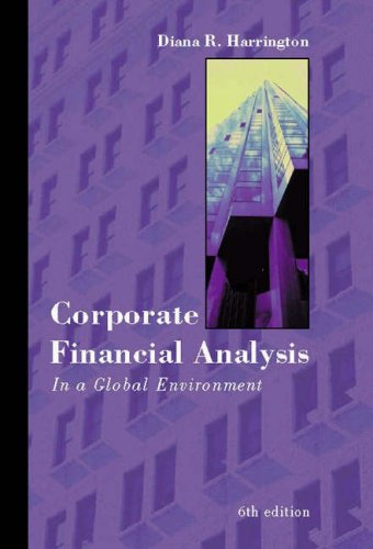 9780324050929: Corporate Financial Analysis in a Global Environment