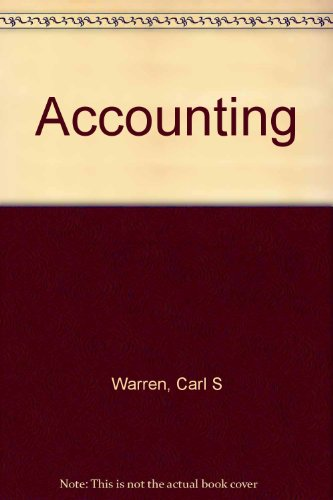 Accounting e20 Sol Chpt 17-24: Carl S. Warren