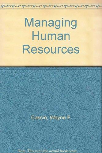 9780324055795: Managing Human Resources